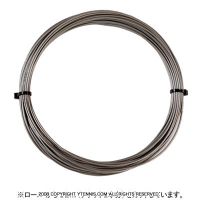 【12mカット品】シグナムプロ(SIGNUM PRO) ファイバーコア(Fiber Core) グレー 1.30mm ナイロンストリングス テニス ガット ノンパッケージ
