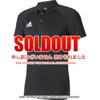 セール品 国内正規品 アディダス(Adidas) トレーニングポロシャツ ブラック/ダークグレー/ホワイト