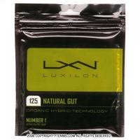 ルキシロン(LUXILON) ナチュラルガット 1.25mm/17G (NATURAL 17) テニスガット パッケージ品