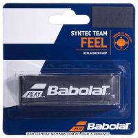 【厚さ1.5mmの薄型グリップ】バボラ(BabolaT) シンテックチーム ブラック/ホワイト リプレイスメントグリップテープ
