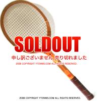 ヴィンテージラケット ウイルソン(WILSON) バニー・マッケイ テニスラケット 木製 ウッドラケット