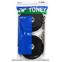 ヨネックス(YONEX) スーパーグリップ オーバーグリップ 30パック ブラック