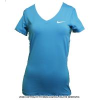 セール品 ナイキ(Nike) プロ ショートスリーブトップ シャツ ブルーラグーン