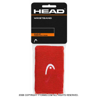 ヘッド(Head) 5インチ リストバンド コーラル/ホワイト