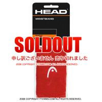 セール品 ヘッド(Head) 5インチ リストバンド コーラル/ホワイト