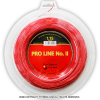キルシュバウム(Kirschbaum) プロラインNO.II(ProLine2) 1.30mm/1.25mm/1.20mm/1.15mm 200mロール ポリエステルストリングス レッド