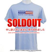 セール品 US Davis Cup USデビスカップ Tシャツ ブルー