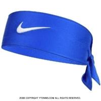 ナイキ(Nike)ドライフィット2.0 ヘッドタイ ロイヤル/ホワイト