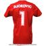 セール品 ノバクジョコビッチファウンデーション(NDF) ONE Tシャツ レッドの画像2