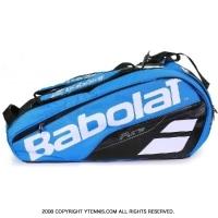 バボラ(Babolat) 2018年モデル ピュアドライブ テニスバッグ ブルー 6本用 バックパック機能あり ラケットバッグ