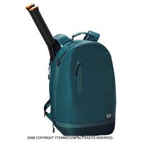 ウイルソン(WILSON) ミニマリスト テニスバックパック グリーン ラケットバッグ WRZ865995