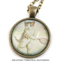 セール品 テニス猫 ネックレス