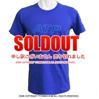 ATPワールドツアー メンズ アウトラインTシャツ ブルー 国内未発売