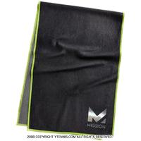 セール品 ミッション(mission) マックス テックニット ラージ クーリング タオル UPF 50 ブラック/グリーン MAX TECHKNIT LARGE COOLING TOWEL