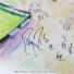 激激レア!! 世界限定10枚 ウィンブルドンテニス 2008 フェデラー・ ナダル直筆サイン入り 高級額付ポスター 証明書付きの画像3