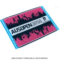 全豪オープンテニス 2014 オフィシャル商品 ジムタオル オーストラリアンオープン ピンク