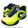 ナイキ(Nike) ラファエル・ナダルシグネチャーモデル コートバリスティック4.3 ボルトイエロー/ブレイブブルー テニスシューズ