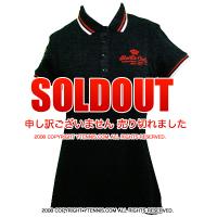【レディースモデル】ROLEX MASTERS モンテカルロ ロレックスマスターズ開催地MCCCオフィシャル レディースポロシャツ ブラック