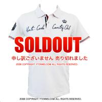 ROLEX MASTERS モンテカルロ ロレックスマスターズ開催地MCCCオフィシャル ポロシャツ ホワイト