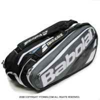 バボラ(Babolat)2017年モデル ピュア PURE グレー 9本用 バックパック機能あり テニスバッグ ラケットバッグ