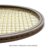 ヘッド(HEAD) ヴィンテージラケット アーサー・アッシュ コンペティション2 テニスラケット 木製 ウッドラケットの画像5