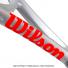 ウイルソン(Wilson) 2021年 クラッシュ 100L シルバー (280g) 16x19 (Clash 100 L Silver Edition Limited) WR077611 テニスラケットの画像3