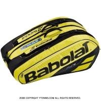 バボラ(Babolat) 2019年モデル ピュアアエロ テニスバッグ 12本用 PURE AERO バックパック機能あり