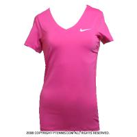 セール品 ナイキ(Nike) プロ ショートスリーブトップ シャツ ホットピンク