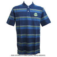 Wimbledon(ウィンブルドン) オフィシャル商品 ストライプポロシャツ 全英オープンテニス