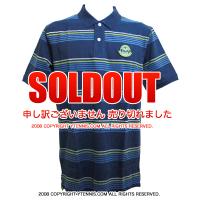 セール品 Wimbledon(ウィンブルドン) オフィシャル商品 ストライプポロシャツ 全英オープンテニス