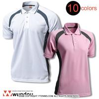 ★無地★wundou(ウンドウ)スポーツウェア ベーシックテニスシャツ P1710 ユニセックス