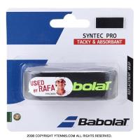 【ナダル使用シリーズ】バボラ(BabolaT) シンテックプロ リプレイスメントグリップテープ ブラック/ライム