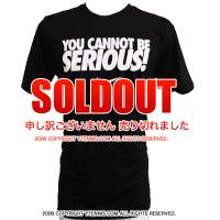 ナイキ(Nike) You Cannot Be Serious Tシャツ ブラック メンズ