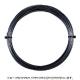 【12mカット品】トアルソン(TOALSON) レンコンデビルスピン(Rencon Devil Spin) 1.30mm/1.25mm ポリエステルストリングス ブラック テニス ガット ノンパッケージ
