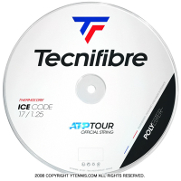 テクニファイバー(Tecnifiber) アイスコード(ICE Code) 1.20mm/1.25mm/1.30mm 200mロール ポリエステルストリングス