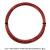 【12mカット品】ワイバーン(YBURN)レッドアディクト(RED ADDICT) 1.25mm ポリ 驚異のスピン能力(7角形ツイスト) テニス ガットの画像