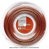 ルキシロン(LUXILON) エレメント(ELEMENT) 1.25mm/1.30mm 200mロール ポリエステルストリングス ブロンズ