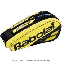 バボラ(Babolat) 2019年モデル ピュアアエロ テニスバッグ 6本用 PURE AERO バックパック機能あり