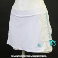 フレンチオープンテニス ローランギャロスオフィシャル スカート アディダス(adidas) ホワイト レディース 全仏オープン