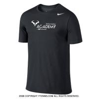 ナイキ(Nike) ラファエル・ナダル アカデミー ブルロゴ入り Tシャツ ブラック 国内未発売