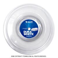 ワイバーン(YBURN)デュラホワイト(DURA WHITE) 1.30mm シンセティックガット 200mロール コスパNo.1! ロールガット