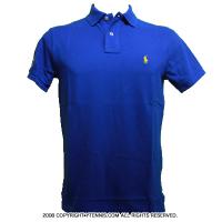 セール品 Wimbledon(ウィンブルドン) オフィシャル商品 ポロ・ラルフローレン ポロシャツ ブルー 全英オープンテニスSapphire Star