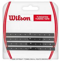 ウイルソン(Wilson) タングステン チューニング テープ ブラック バランス調整テープ テニスラケット
