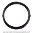 【12mカット品】ポリファイバー(Polyfibre) ブラックヴェノム(Black Venom) 1.30mm/1.25mm/1.20mm/1.15mm ポリエステルストリングス ブラック テニス ガット ノンパッケージの画像1