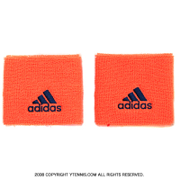 アディダス(adidas) シングルワイド リストバンド オレンジグロー/ミステリーブルー S97905