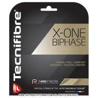 Tecnifiber(テクニファイバー) X-ONE バイフェイズ(biphase) 1.24/17G テニスガット テニス用品 パッケージ品