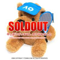 全豪オープンテニス(Australian Open ) オフィシャル商品 クマ ぬいぐるみ オーストラリアンオープン 国内未入荷