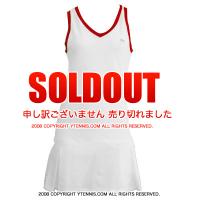ラコステ(Lacoste)全仏オープンローランギャロスモデル テニスドレス ホワイト