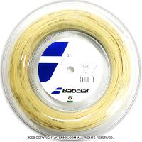 バボラ(Babolat) エクセル(Xcel) 1.35mm/1.30mm/1.25mm/1.20mm 200mロール ポリエステルストリングス ナチュラルカラー