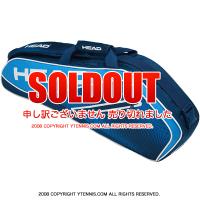 セール品 ヘッド(HEAD) 2019年モデル ツアーチーム プロ ラケット3本用 ネイビー/ブルー 283139-NVBL テニスバッグ ラケットバッグ